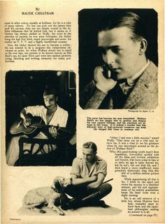 From Motion Picture Classic, May 1922, more on Wallace Reid, not to be forgotten