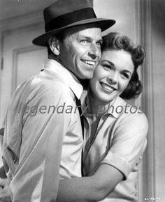 "Frank Sinatra and Nancy Gates, press photo for ""Suddenly"" 1954"
