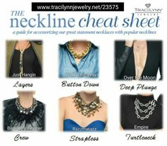 Fashionable options for every neckline available at www.tracilynnjewelry.net/23575 #necklace #feather #neckline #jewelry # anyoccasion #musthave