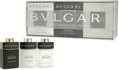 Bvlgari Sada miniatur The Bvlgari Men Pocket Spray Collection EdP 15 ml + EdT 2 x 15 ml подарочный набор Bvlgari, Clock, Pocket, Men, Collection, Watch, Clocks, Guys, The Hours