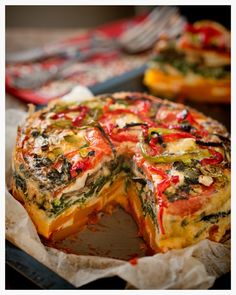 Layered Veggie StackThe vegetables recommended in this recipe are not mandatory. They can certainly be replaced with whatever veggies you have in the fridge. And if you are dairy free just eliminate the parmesan, it's not essential. As a bonus this tastes great cold the next day, so pack it as a lunch. Layered Veggie …