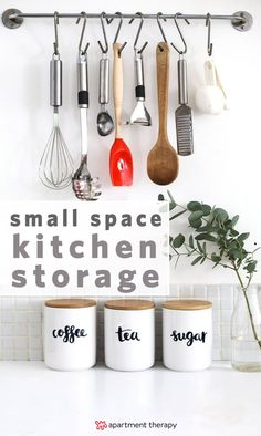 Having a kitchen that looks great doesn't have to mean spending a ton of money. Sometimes, you just have to get crafty. These DIY storage solutions are going to help you maximize your space.
