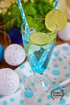 Wanilia i Kardamon: Blue Mojito Mojito, Hurricane Glass, Margarita, Tableware, Blog, Dinnerware, Tablewares, Margaritas, Blogging