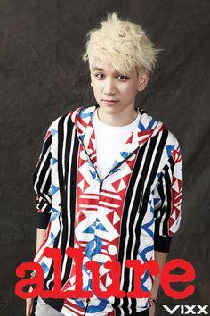 Hyuk ♡ #VIXX - Allure Magazine October Issue '12