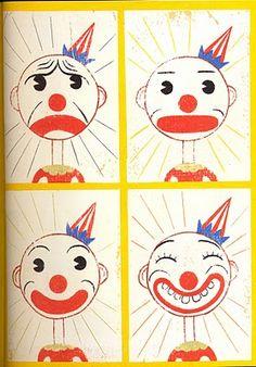 Clowntje Piet heeft verdriet... Waar word jij verdrietig van? Hoe voelt dat? Waar voel je dat in je lijf?