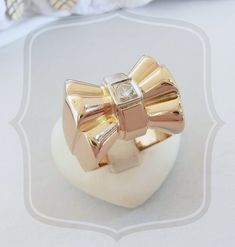 """Bague """"Tank"""" ancienne / Diamant / Or 18 K Gold / 750 / Or 18 carats Stud Earrings, Jewelry, Style, Delicate Jewelry, Stud Nails, Diamond, Swag, Jewlery, Jewerly"""