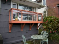 Window Box DIY Catio Plans by Catio Spaces - Natalee Smith - Cat playground outdoor Cool Cat Trees, Cool Cats, Cat Tree Plans, Outdoor Cat Enclosure, Cat Cages, Cat Perch, Cat Window Perch, Cat Playground, Outdoor Cats