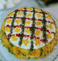 Tart Kalıbında Salata Tarifi