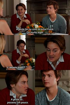 a cara do Gus kkakakaak Star Quotes, Film Quotes, Fault In The Stars, Cute Phrases, John Green Books, Beauty And The Best, Tv Show Music, Anne Frank, Series Movies
