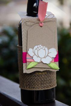 Spring Craft Challenge Inspiration – Wine Label