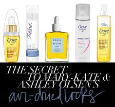 the secret to mary-kate and ashley olsen's hair