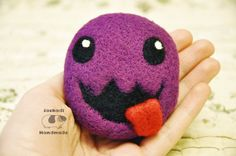 Zergling from Starcraft  felted Zerg  felt by JackadiHandmade