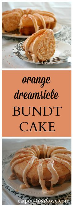 this orange dreamsicle cake starts with a cake mix! So easy yet so yummy!