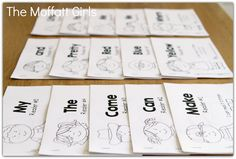 PRINTABLE Emergent Readers for BEGINNING readers!  Each readers has a focused sight word and short vowel words to help build fluency and confidence!