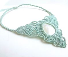 Hey, I found this really awesome Etsy listing at https://www.etsy.com/il-en/listing/238049031/macrame-necklace-mother-of-pearl-with