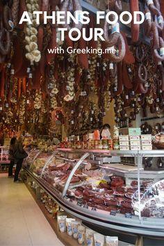 Athens food tour with Greeking.me
