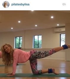 A sneak peak of the new Pilates workout available at www.pilatesbylisa.com.au wearing our very popular limited edition Candy Skulls from www.kastaustralia.com #pilatesbylisa #kastaustralia #pilates #pilateswear #pilatestights #pilatesleggings #pilatescapris @kastaustralia @pilatesbylisa