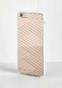 Shine on the Line iPhone 6/6S Case in Copper
