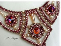 Seed Bead Necklace, Seed Bead Jewelry, Beaded Necklace, Beaded Bracelets, Necklaces, Beaded Jewelry Designs, Handmade Beaded Jewelry, Necklace Designs, Bracelet Patterns