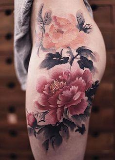 Tatuaggi Che Sembrano Acquerelli Di Chen Jie Tatuaggi Di Body Art 0e1b1a72be7