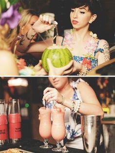 Rum cocktail making Brighton