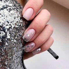 Winter Manicure Trendy Winter Nail Art Design, Trends&Photo Ideas of Winter Nail Design Star Nail Designs, Winter Nail Designs, Stylish Nails, Trendy Nails, Hair And Nails, My Nails, Star Nails, Perfect Nails, Blue Nails