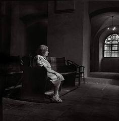 "Holocaust survivor Panl Elserova at the Kolin Synagogue, Czech Republic, July 2012. According to Dennis Darling, Elserova ""is last remaining Jewish women living in the town."""
