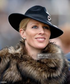(EMBARGOED FOR PUBLICATION IN UK NEWSPAPERS UNTIL 48 HOURS AFTER CREATE DATE AND TIME) Zara Phillips attends day 3 of the Cheltenham Festival at Cheltenham Racecourse on March 16, 2017 in Cheltenham, England. (Photo by Max Mumby/Indigo/Getty Images)
