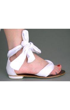 Sandały Sunny Bow 11733-2 Biały
