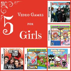 5 video games for girls
