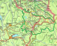 Map of Poloniny Heritage Site, Templates, Map, Stencils, Location Map, Vorlage, Maps, Models
