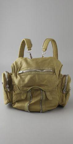 Alexander Wang bag. leather