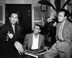 Jack Benny, George Burns, Bing Crosby, Hooray For Hollywood, Classic Films, Celebs, Celebrities, Vintage Hollywood, Comedians