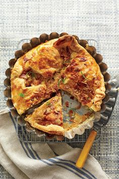 Budget-Friendly Quick-Fix Meals: Cheesy Bacon-and-Two-Onion Tart