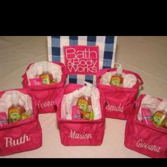 These are such cute gift baskets using the Thirty One Littles Carry All Caddy These would be great for bridesmaid gifts or teacher gifts! Need a catalog or wanna host an online party? Contact me by clicking through the image! Thirty One Uses, My Thirty One, Thirty One Gifts, Wedding Gifts For Bridesmaids, Gifts For Wedding Party, Party Gifts, Wedding Ideas, 31 Party, Party Favors