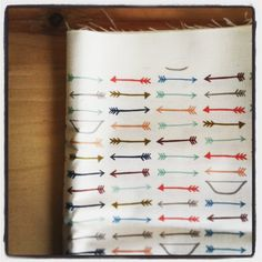bows and arrows  navy  original fabric  fat by KatherineCodega, $10.00 @Charlee Cramer