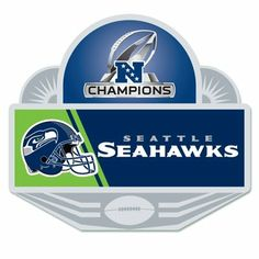 WinCraft Seattle Seahawks 2013 NFC Champions Collectors Pin