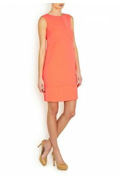 Cleo Crepe Shift Dress - Dresses - Clothes - London-Boutiques.com