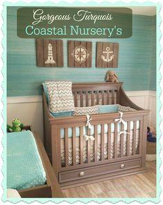 Gorgeous Costal Nursery Designs