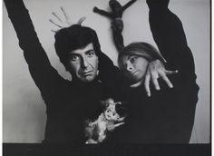 Leonard Cohen en Marianne Ihlen.