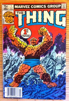 first appearance of marvel characters | The THING - Issue 1 - Marvel Comics - 1983 - Fantastic Four - Stan Lee