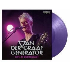 Vinyl Van der Graaf Generator - Live at Rockpalast, Music on Vinyl, 2020, 3LP, 180g, ružový vinyl   Elpéčko - Predaj vinylových LP platní, hudobných CD a Blu-ray filmov Van Der Graaf, Vinyl Music, Rock, Live, Concert, Movie Posters, Art, Art Background, Skirt