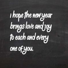 Happy New Year to all my followers! THANK YOU for following me :) ♥