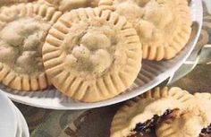 Raisin and Chocolate Filled Cookies
