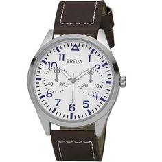 Zach Watch Men's Brown White, $25, now featured on Fab.