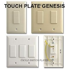 modern low voltage light switch options new house pinterest