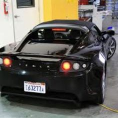 Tesla electric car made in USA!!