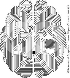 Google Image Result for http://images.clipartof.com/small/1104326-Clipart-Black-And-White-Circuit-Brain-With-A-Computer-Chip-Royalty-Free-Vector-Illustration.jpg