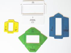 Image of Wooden Envelope Templates