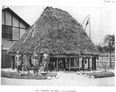 The Samoan Village at the World's Columbian Exposition (also known as the Chicago World's Fair), Daniel Burnham World's Columbian Exposition, New York Buildings, Victoria House, Agricultural Buildings, German Village, Palace Of Fine Arts, Mechanical Art, Chicago Photos, White City